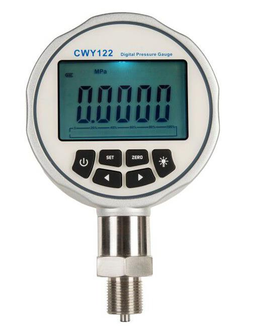Dead Weight Tester is calibrating pressure gauge