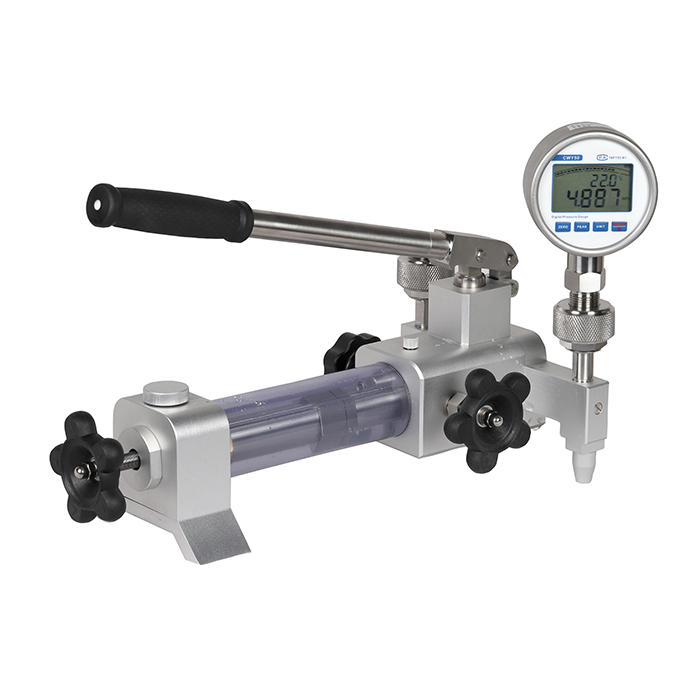portable pressure comparison pump